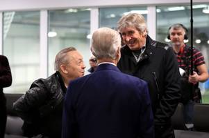 west ham's owners are piling the pressure on manuel pellegrini in the transfer window