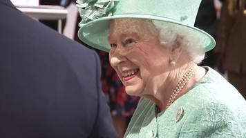 queen visits supermarket on its 150th anniversary