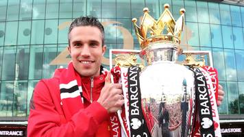 'thank god i won title with man utd' - van persie on retirement & being like a 'kid in a sweet shop' at arsenal