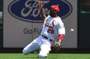 cardinals cold streak continues, losing 8-4 to royals in game 1 of doubleheader