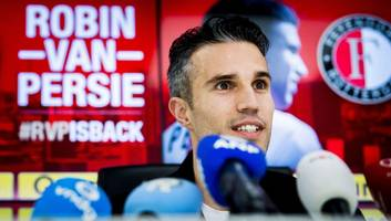 robin van persie insists ole gunnar solskjaer is 'the perfect match' for manchester united
