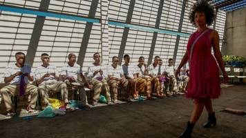 in pictures: brazilian inmates create fashion behind bars