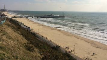 bournemouth beach body find prompts police probe