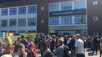 kingston university campus evacuated over 'ww2 bomb'