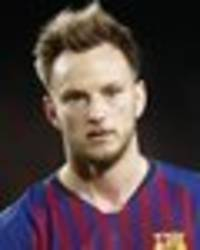 man utd handed ivan rakitic boost as barcelona make £48m transfer decision