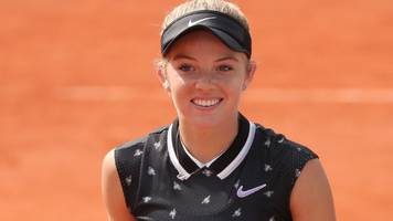 French Open: Britain's Katie Swan one win from main draw but Heather Watson out
