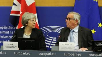 juncker suggests uk may be headed for another brexit extension