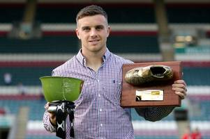 golden boot awards for leicester tigers' fly-half george ford