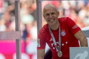 what we know about arjen robben to leicester city transfer rumours