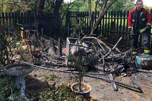 firefighters warn against using this weedkiller after three gardens go up in flames
