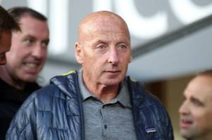 man utd and wales football legend mickey thomas has just received the most brilliant news