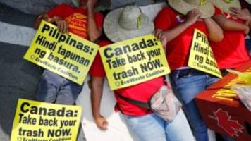 Canada to take back rubbish sent to Philippines