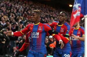 palace legend's message for arsenal and man united amid wilfried zaha & aaron wan-bissaka links