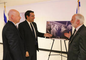 un opens exhibit to celebrate 40 years of peace deal between israel-egypt