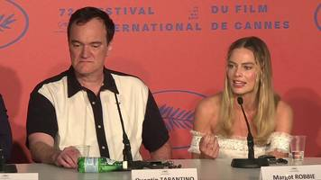 Quentin Tarantino 'rejects hypothesis' on Margot Robbie