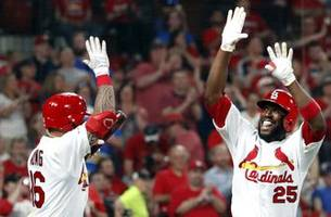 cardinals hit four homers, defeat royals 10-3 in doubleheader nightcap