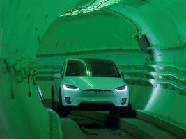 elon musk's boring company staged a race between a tesla in a tunnel and on the road — and the winner was clear