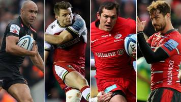 premiership semi-finals: saracens, gloucester, exeter and northampton in last four
