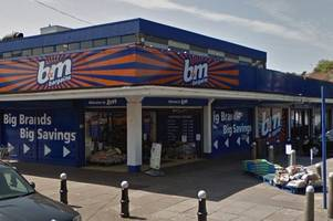 heroin addict assaults b&m staff member in bid to escape capture