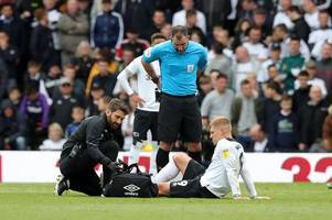 derby county sweating on fitness of duo ahead of play-off final against aston villa