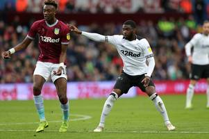 'we'll deal with them' - aston villa stars give verdict on derby county and chelsea links