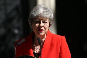 Live as Theresa May resigns as Prime Minister in Downing Street statement