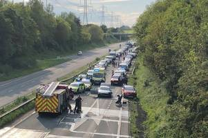 police update on casualties after serious crash closes a1079 at jocks lodge