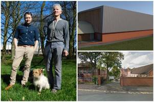 'it looks like an industrial shed...' - councillors reject this £3m sports hall plan for top north staffordshire school