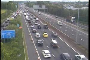 M5 bank holiday traffic jam hits Exeter at rush hour - latest updates