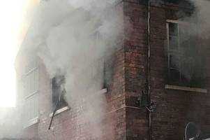 'it's absolutely devastating' - owner's heartbreak as fire rips though dance studio days after tragic news about her mum