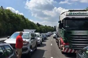 air ambulance lands at m11 crash as highways england reveal what's happened