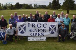 irvine ravenspark golf club ace wins inaugural golden oldie competition