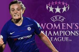 irvine ace erin cuthbert's goal voted the best in the champions league