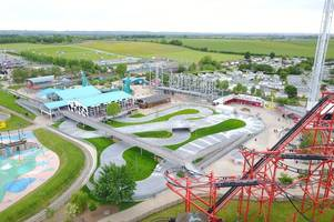 theme park staff kick out group of 111 after teen arrested following domestic rows