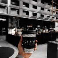 For Five Coffee Coming to Washington, D.C. Metro and Boston, MA
