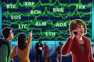bitcoin, ethereum, ripple, bitcoin cash, eos, litecoin, binance coin, stellar, cardano, tron: price analysis may 24