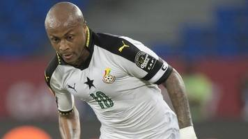 2019 africa cup of nations: andre ayew named as ghana captain
