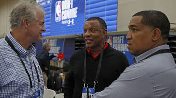 an inside look at the nba's annual mixer: the draft combine