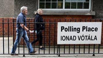 irish local elections: green party surge suggested as counting begins