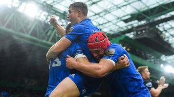 Glasgow Warriors 10-18 Leinster: Holders win Pro14 final at Celtic Park