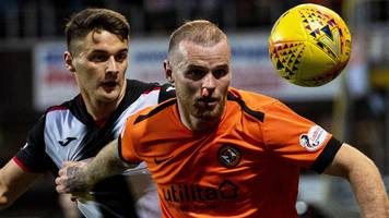 pressure on st mirren, says dundee united boss ahead of play-off final