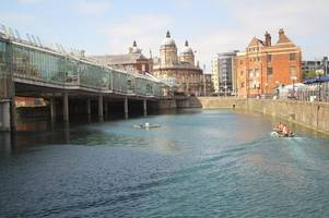 What lies beneath the Princes Quay water and why it could be deadly
