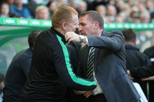 celtic boss neil lennon remains in contact with leicester city manager brendan rodgers