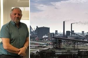 council opposition leader and ex-steelworker of more than 40 years on industry's vital importance to scunthorpe