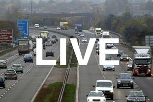 live updates: m5, m4 and a303 traffic as bank holiday getaway begins