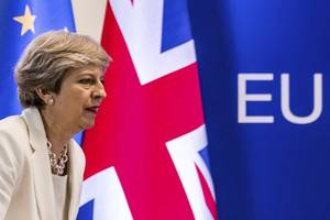 on brexit, theresa may made life 'more difficult for herself'
