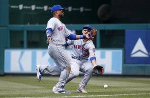 Mets OF Conforto activated after concussion, OF Davis cut