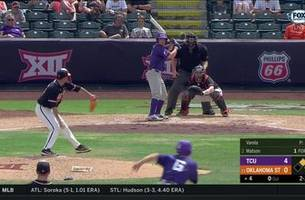 WATCH: TCU tops Oklahoma State 13-6 | Big 12 Baseball Championships
