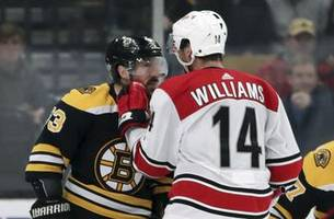 marchand says left hand is 'good' heading into cup final