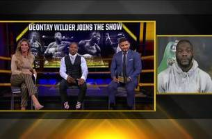 deontay wilder joins inside the pbc to discuss his title defense against dominic breazeale